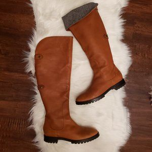 Cole Haan waterproof leather boots